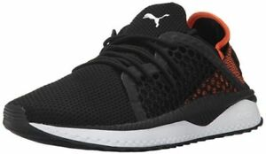 New Puma Tsugi Netfit Men's Running Training Shoes Black