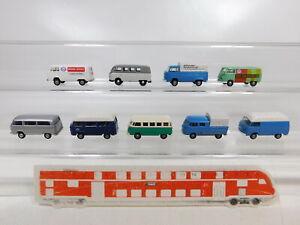 CA369-0-5-9x-Brekina-1-87-H0-Bus-Transporter-VW-Volkswagen-T1-T2-NEUW