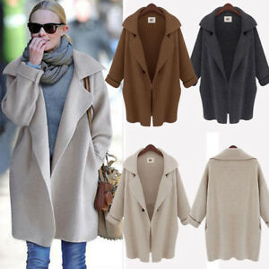 Womens-Cardigan-Jacket-Coat-Tops-Casual-Chunky-Knitted-Oversized-Jumper-Sweater