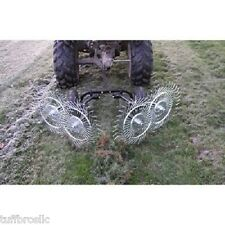 Yard Tuff ACR-480JR Acreage V-Style Rake, 48-Inch