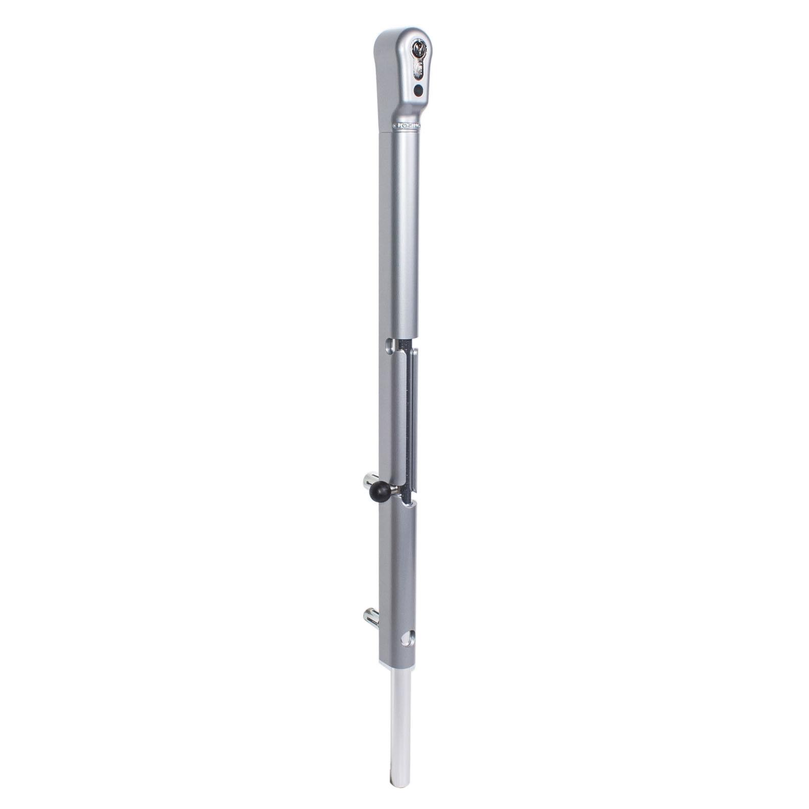 LOCINOX Keydrop - Verriegelbarer Stangenriegel für Dreh- und Flügeltore