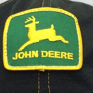John Deere patch orange and black lot of 6