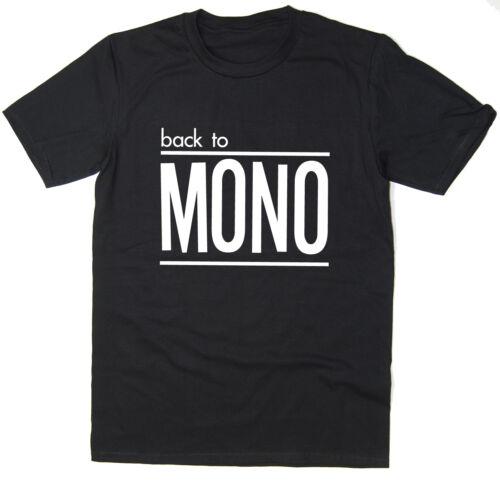 45RPM Back To Mono T-shirt Funny Retro T-Shirt