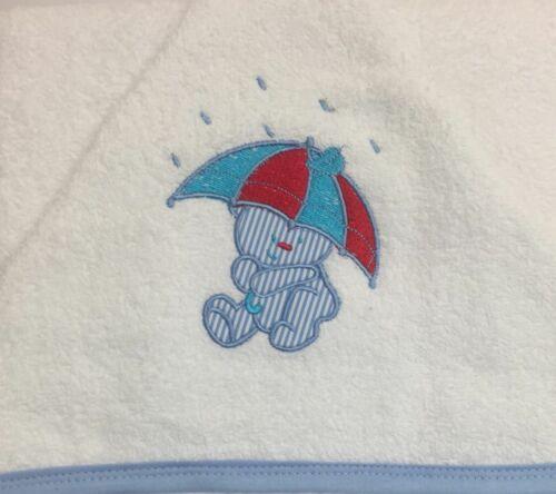 Bébé Serviette de bain 100/% coton brodé Capuche Plage Natation Pour Bébé Tout-petits