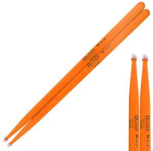 Agner 1 Paire 5 A Lumière Uv Baguettes En Orange Trommelstöcke Techniques Modernes