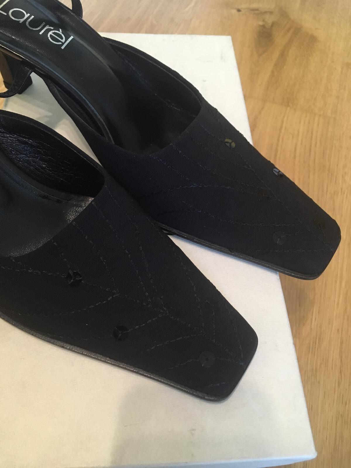 LAUREL Schuhe Sandaletten Mid Heels Gr. 38 Laurèl Laurèl 38 Mittel 072119