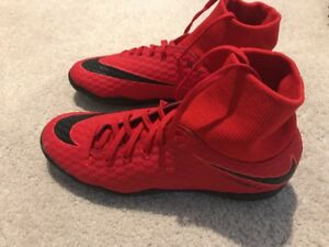 7fb197064 Nike HypervenomX Phelon III Men s Indoor Soccer Shoes Size 12.5 Red ...