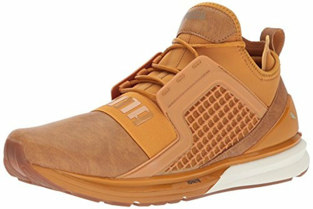 PUMA Men's Ignite Limitless Leather Sneaker