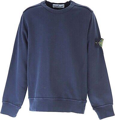 Stone Island Junior Logo Patch Embellished Sweat-Shirt 681662917 WHITE