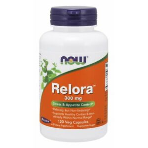 Now Foods Relora 300 Mg 120 Vegicaps Made in USA FREE SHIPPING