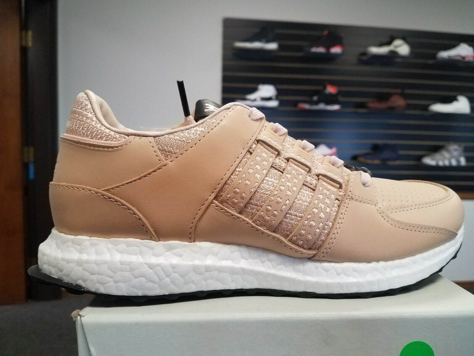 New Adidas Consortium x Avenue Equipment Support 93 16 Leather Tan CP9640 Size 9