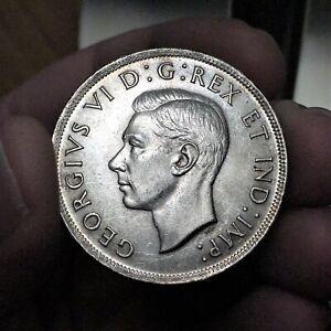 1937-Canada-Dollar-Coin-Silver-KM-37-George-VI-UNCIRCULATED