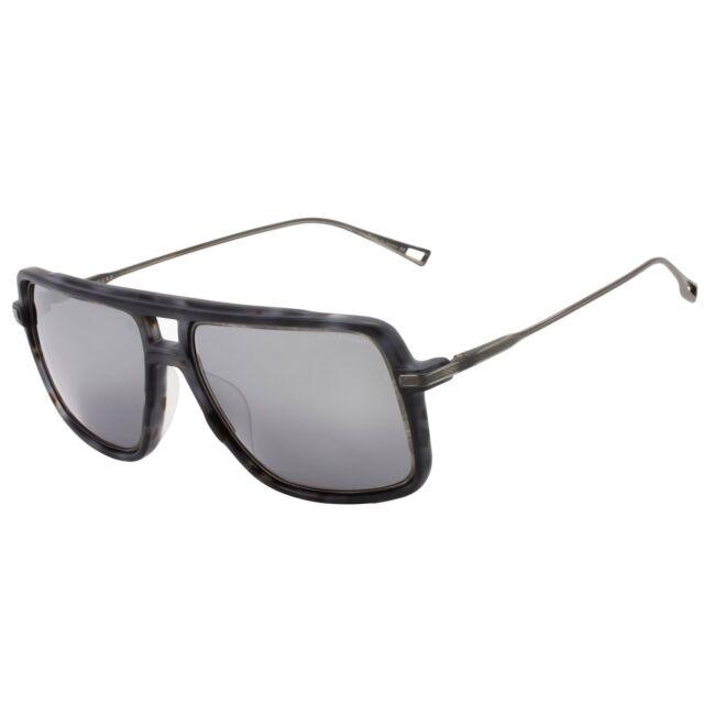 ef6d01f1301 Dita Westbound Sunglasses 19015C Matte Grey Tortoise Antique Silver Flash  Lens