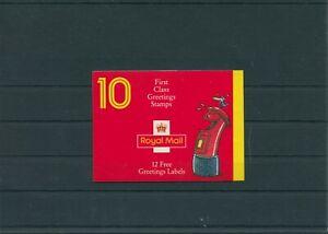 United-Kingdom-Great-Britain-1991-mi-1327-1336-Stamp-Booklet-Mint-MNH