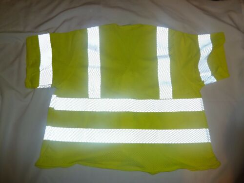 LEVEL 2 NSA FLAME RESISTANT HI-VIS MESH VEST CALASS 3 XL  MADE IN THE USA