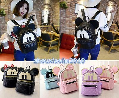 Women's Shoulder Bag Backpack School Bag Satchel Travel Bag Handbag Big Ear Bag