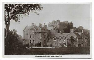 POSTCARDS-SCOTLAND-DUMFRIESSHIRE-DUMFRIES-CLARENCEFIELD-RP-Comlongon-Castle