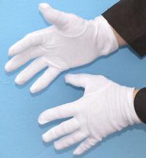 Schutzhandschuhe Baumwolle Waffen Münzen Orden XL Weiß