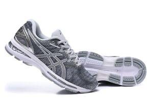 Detalles de Asics Hombre Zapatillas para Correr Gel Nimbus 20 Carbón Negro Plata