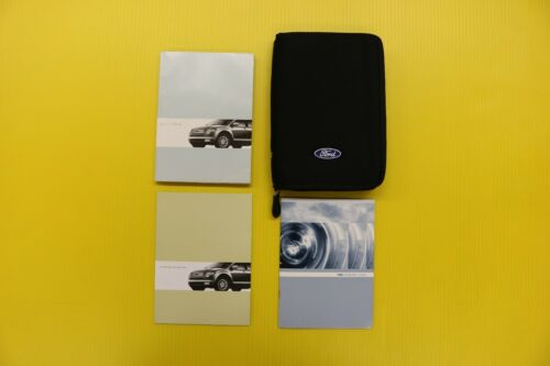 Edge 07 2007 Ford Owners Owner/'s Manual Set W// Case