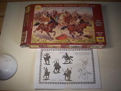 Fornito Zvedza Numidian Cavalry/cavalleria Numida Alleati Cartaginesi, Scala 1/72 Brividi E Dolori