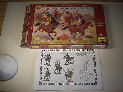 Zvedza Numidian Cavalry/cavalleria Numida Alleati Cartaginesi, Scala 1/72