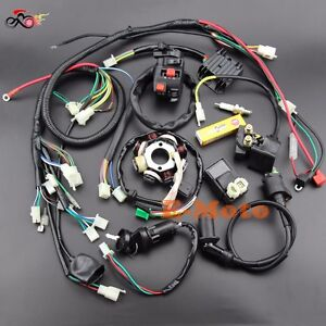 s l300 buggy wiring harness loom gy6 engine 125 150cc quad atv go kart gy6 buggy wiring harness at gsmx.co