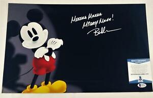 BRET-IWAN-034-MICKEY-MOUSE-034-SIGNED-METALLIC-11X17-PHOTO-DISNEY-BECKETT-BAS-COA-137