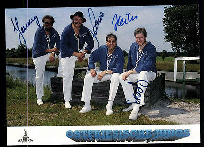 WunderschöNen Ostfriesische Jungs Autogrammkarte Original Signiert ## Bc 54694 Original, Nicht Zertifiziert
