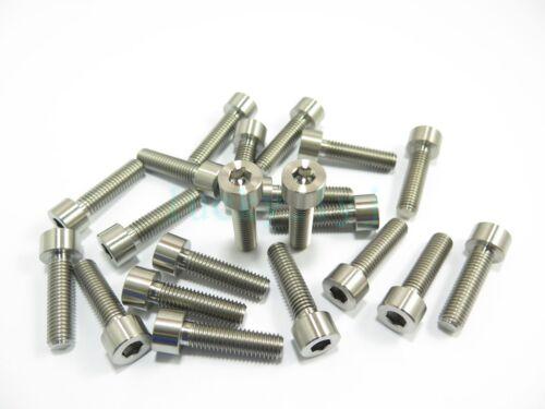 2//5//8pcs M8 x 30 Titanium Ti Socket Cap Head Bolts Allen Hex Screw Grade 5