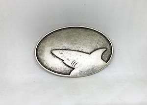 "UmjuBelt Schließe /""Shark silver/"""