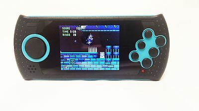 """Sega Portable Player with 100x Built In Genesis Games 2.8"""" LCD w/SD Card Reader"""