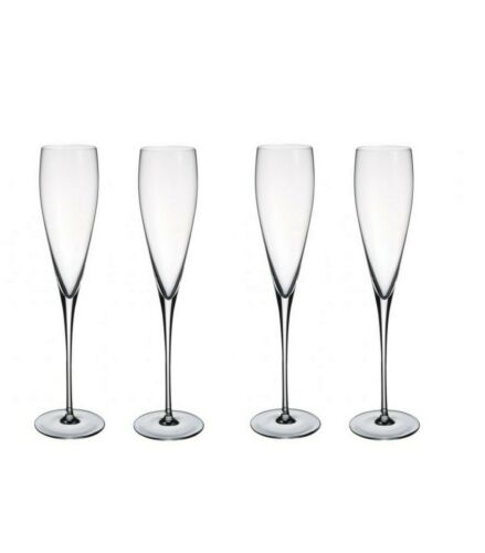 Champagne Crystal Glass Single// Set of 2 or 4 Villeroy /& Boch Allegorie