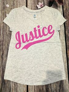 NWOT Size 8 10 12 Justice girls short sleeve graphic tees
