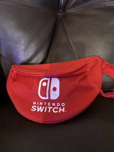 Nintendo Switch Red Fanny Pack Waist Bag Festival
