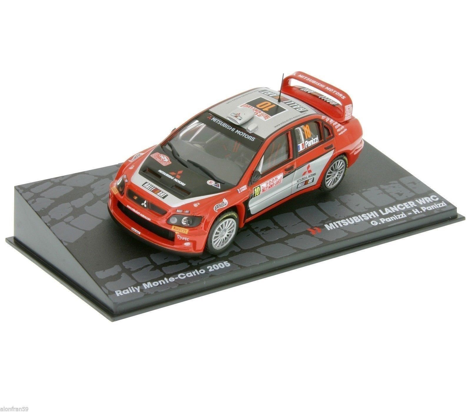 RALLY IXO DIECAST 1 43 Mitsubishi Mitsubishi Mitsubishi Evo WRC Panizzi Panizzi 2005 - RAL031 79b2ec