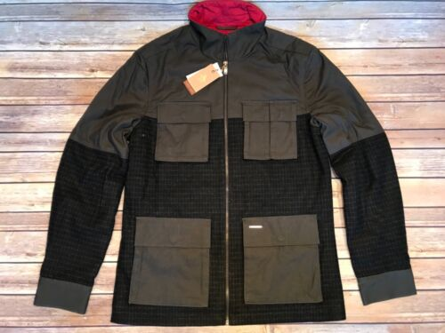 Penguin amp; Medium Size Military Jacket Wool Bnwt Original Canvas Green Men's BzXnqHdq