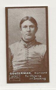 1894-N302-Mayo-Cut-Plug-Football-Reprint-M-G-Gouterman-Harvard-Crimson