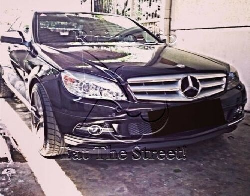 Mercedes CLK Brabus Add-on Rubber Flex Front Valance Chin Lip Spoiler Splitter *