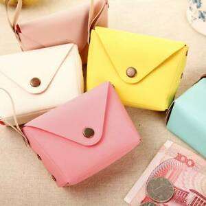 Fashion-Hasp-Coin-Purse-PU-Leather-Case-For-Women-Girl-039-s-Money-Bag-Small-Wallets