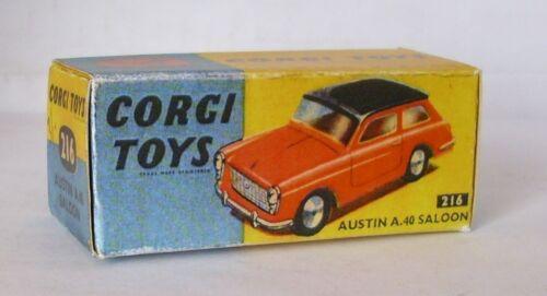 Repro box Corgi nº 216 Austin a 40 Saloon