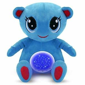 Appris White Noise Machine Baby Toys 0-6 Months - Blu The Bear, Magical Night Light