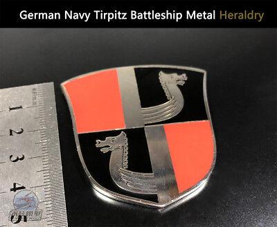 German Navy Scharnhorst Battleship Metal Heraldry