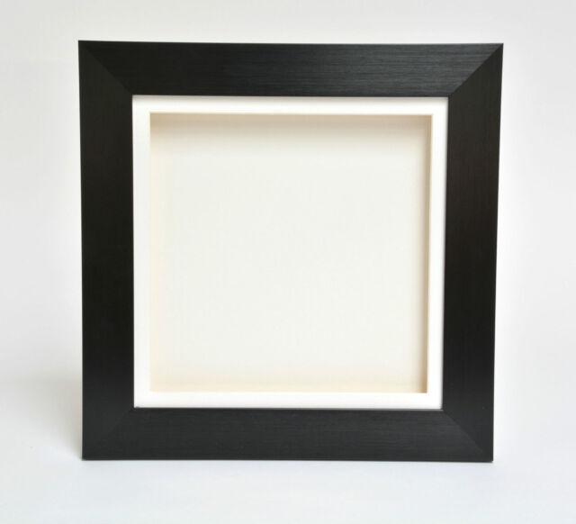 "3D 2"" Deep Box Picture Frame Display Memory Box Medals Memorabilia Flowers etc"
