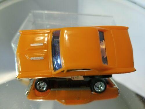 MoDEL MoToRING 1967 Chevelle Orange  HO scale slot car T-jet Custome Wheels