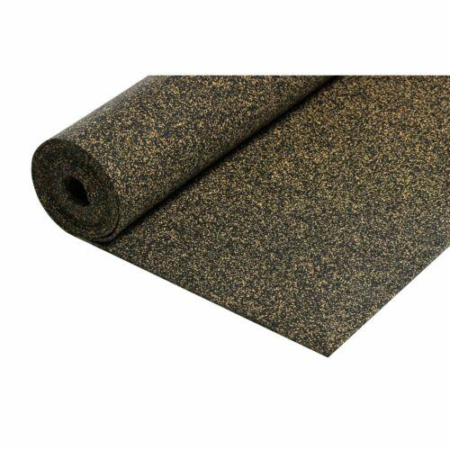 Caoutchouc-korkmatte entrera isolation acoustique 10,5 mâ²//3 mm se produit Acoustique Amélioration Isolation