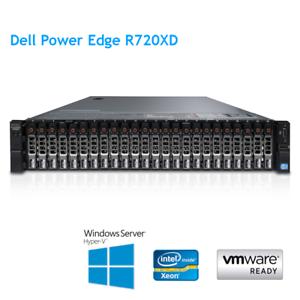 Dell-PowerEdge-R720XD-2-x-E5-2640-6-Core-2-5Ghz-32GB-RAM-H710p-HDD-24-x-600GB