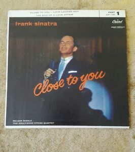 FRANK-SINATRA-Close-to-You-The-End-of-A-Love-Affair-7-034-45RPM-w-PicSleeve-Capitol