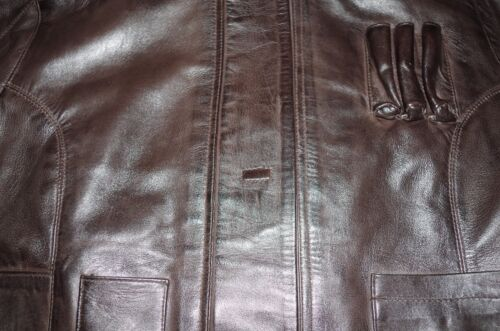 Women/'s Han Solo Star Wars The Force Awakens Distressed Brown Leather Jacket