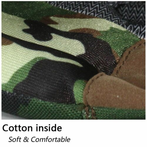 Camouflage Outdoor Hiking Sneakers Men Waterproof Military Desert Hiking Boots